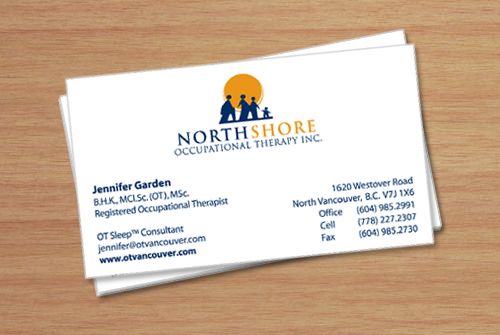 Occupational Therapy Business Cards Arts